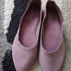 NWOT Skechers Cleo Bewitch Pink Flats